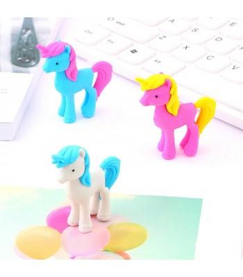 3 Boyutlu Unicorn Silgi