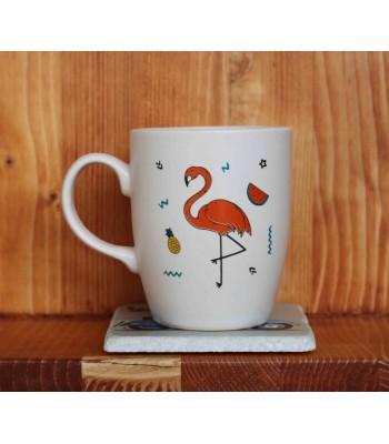 Flamingolu Krem Kupa