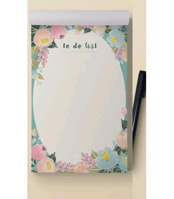 Çiçekli To Do List