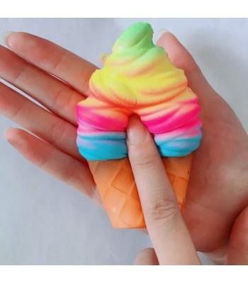 Gökkuşağı Dondurma Squishy
