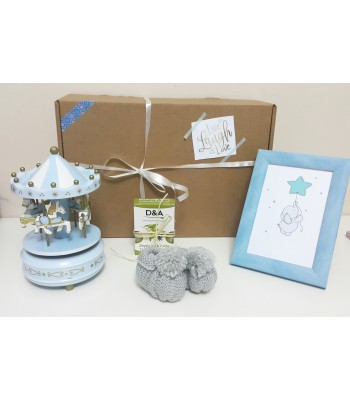 Bebeğe Hediye Kutusu Mavi