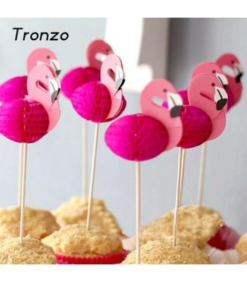 Flamingo Dekor Ürünü 4 lü