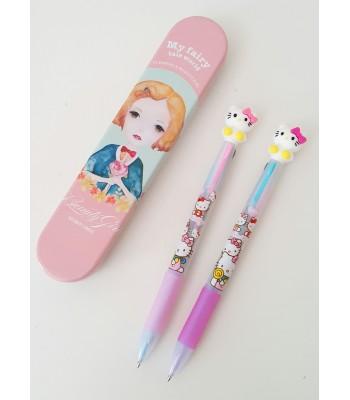 3 Renk Yazan Hello Kitty Kalem