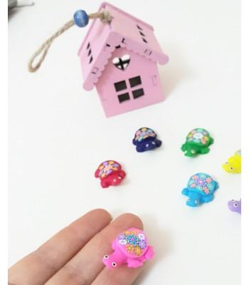 Minik Renkli Kaplumbağa Magnetler 7 adet 5 tl