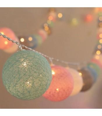 Renkli Toplar Led Işık (10'lu)