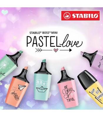 Stabilo Boss Mini Pastel Love