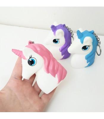Unicorn Squishy Anahtarlık