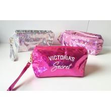 Victoria's Secret Yazılı Makyaj Çantası & Kalemlik
