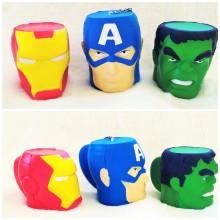 Süper Kahramanlar Pofuduk Squishy