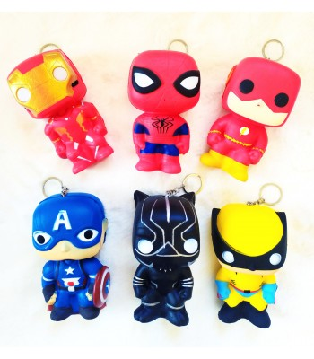 Süper Kahramanlar Squishy