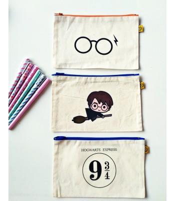 Harry Potter Orta Boy Bez Cüzdan