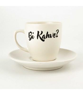 Bi Kahve? Türk Kahvesi Fincanı