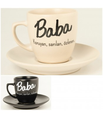 Baba Türk Kahvesi Fincanı
