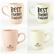 Best Friends Forever Oval Kupa